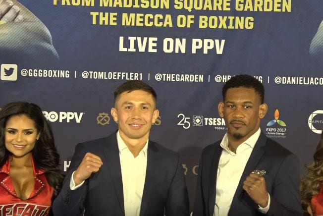 GGG vs Jacobs Rematch