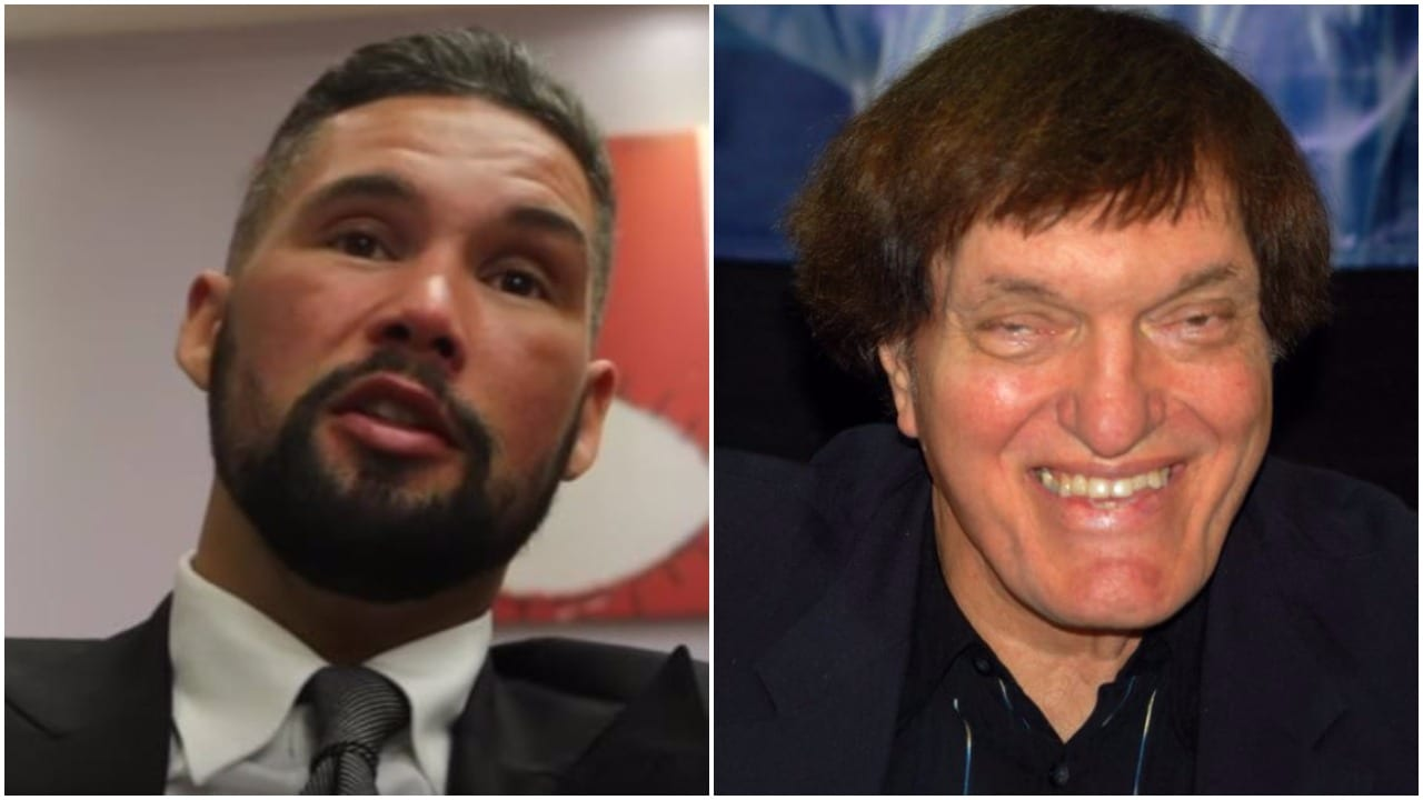 Tony Bellew James Bond