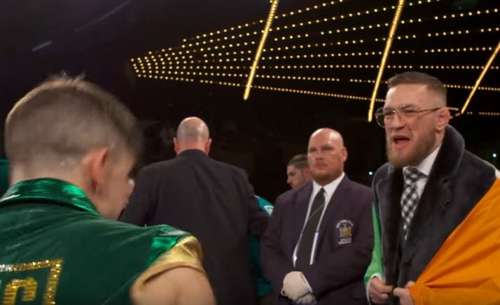 McGregor Said To Michael Conlan