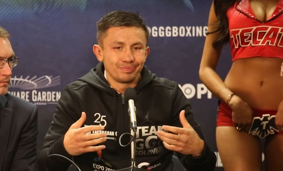Golovkin Jacobs Reaction
