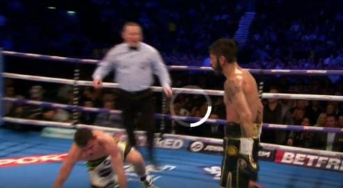 Jorge Linares punch