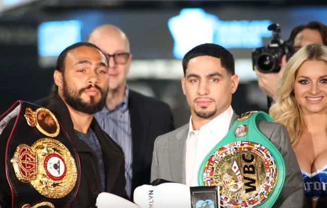 keith thurman vs danny garcia fight