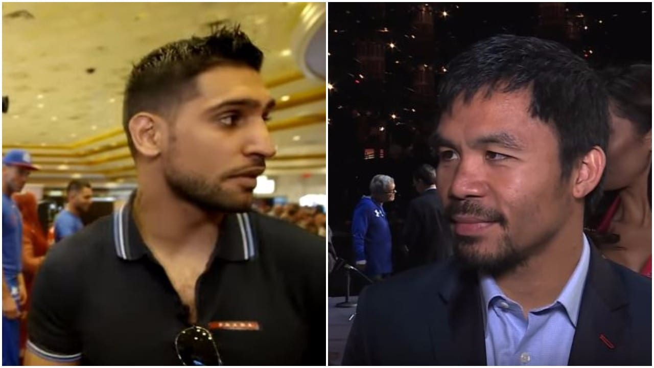 Khan On Fighting Pacquiao