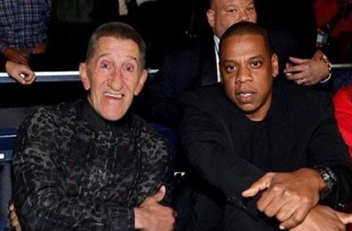 Jay Z and Barry Chuckle