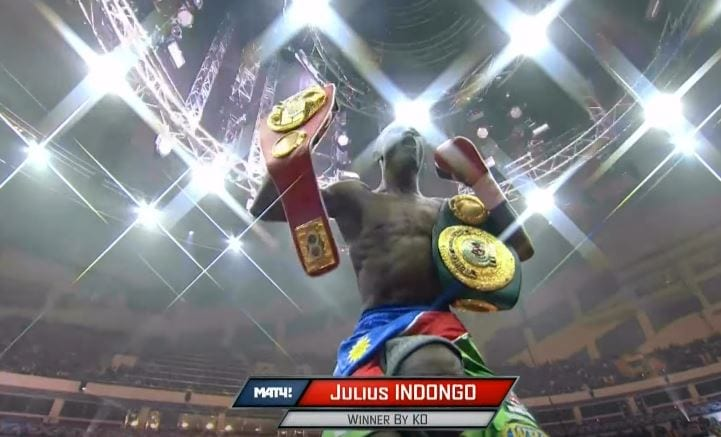 Julius Indongo Backed