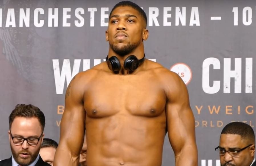 Joshua vs Klitschko PPV Buys