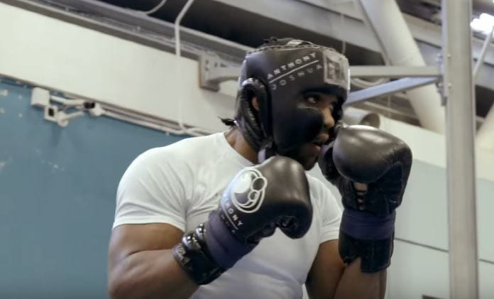 anthony joshua training program