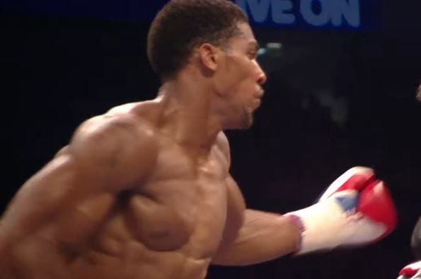 Anthony Joshua weakness