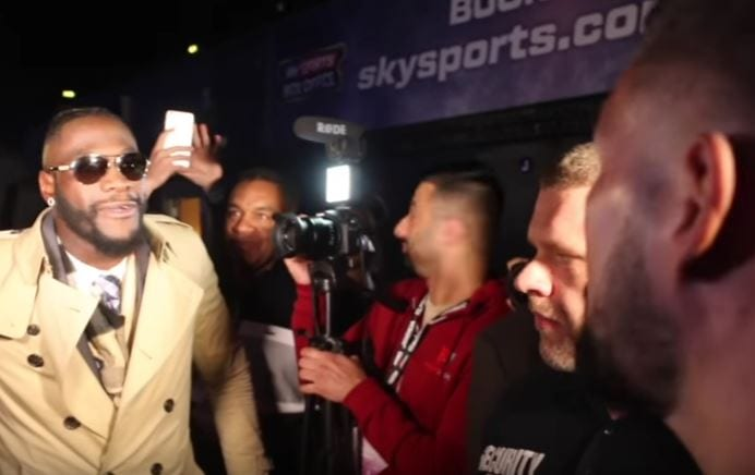 Bellew Is Spot On About Sickening Deontay Wilder
