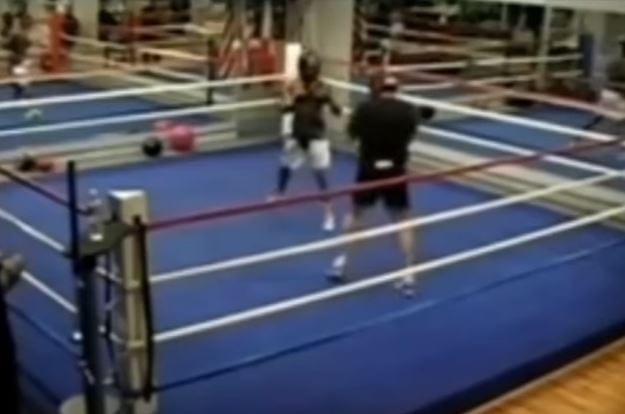 Golovkin Mosley Sparring