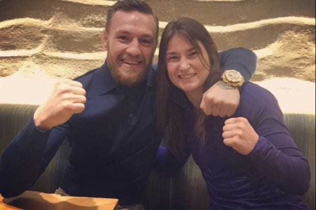 conor mcgregor and katie taylor