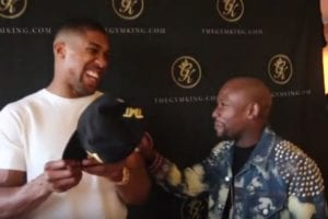 Anthony Joshua Gives Brutally Honest Reaction To Mayweather In MMA