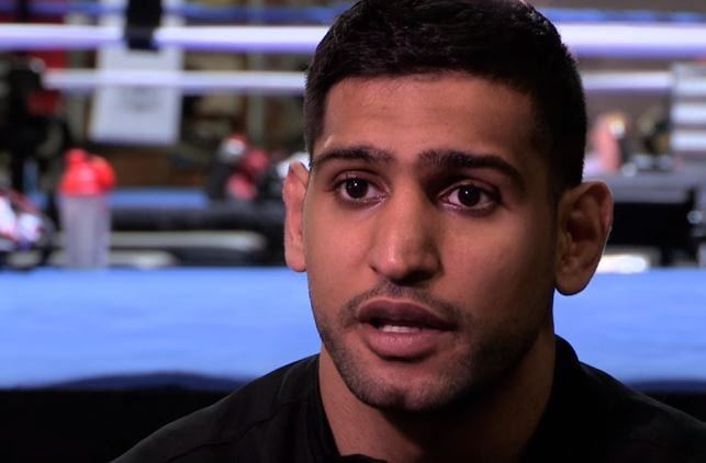 Amir Khan Reacts To Canelo Beating Golovkin
