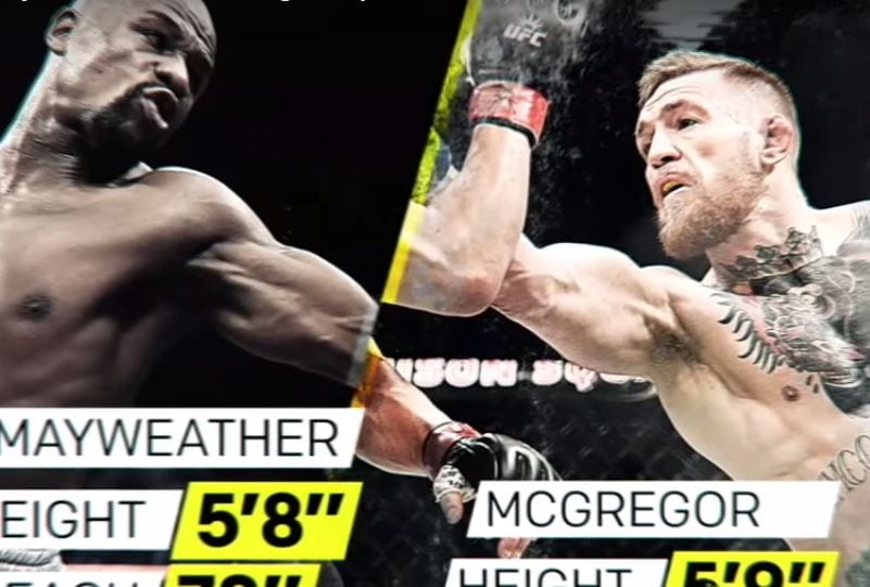 Mayweather vs McGregor can