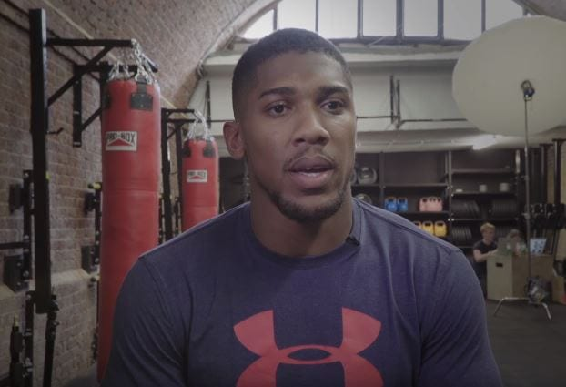 Anthony Joshua Speaks On