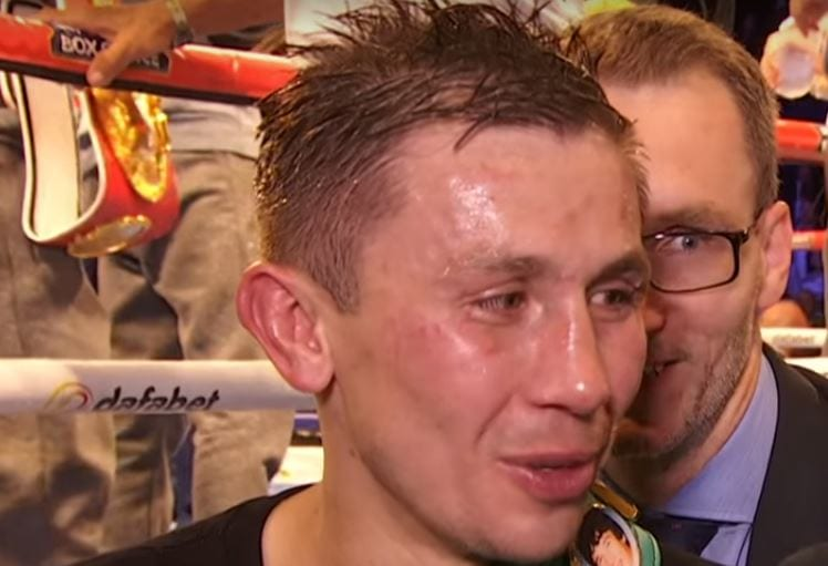 Golovkin Sends Chilling Warning