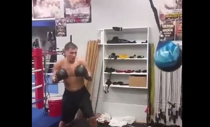 golovkin working