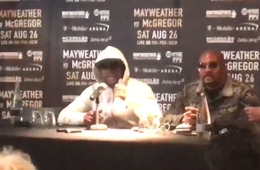 Mayweather McGregor Media