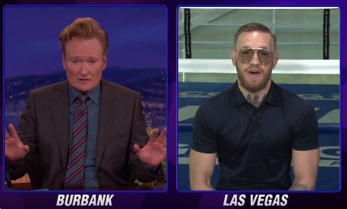 conor mcgregor on conan o brien
