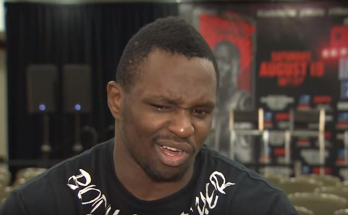 Dillian Whyte Reacts