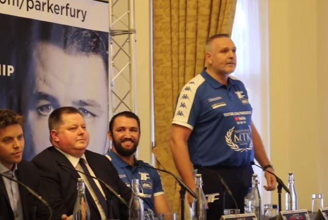 Parker Fury press conference