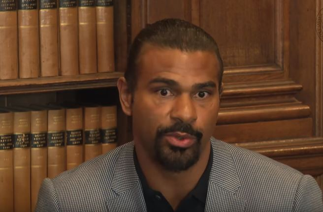 David Haye Reveals Left Field Boxer He Thinks Tyson Fury Could Fight