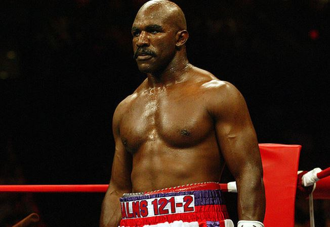 Evander Holyfield Reacts To 42-Year-Old Floyd Mayweather Coming Out Of Retirement