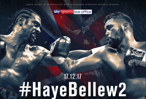 haye vs bellew rematch