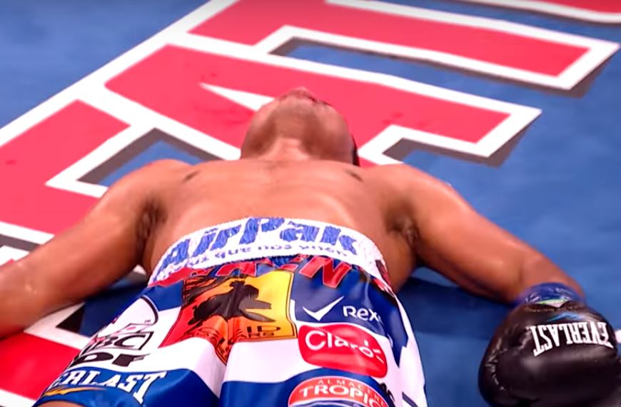roman gonzalez was knocked out
