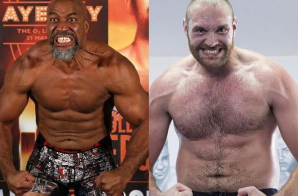 shannon briggs calls out tyson fury