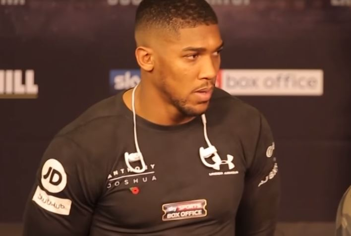 Anthony Joshua Full Of Respect
