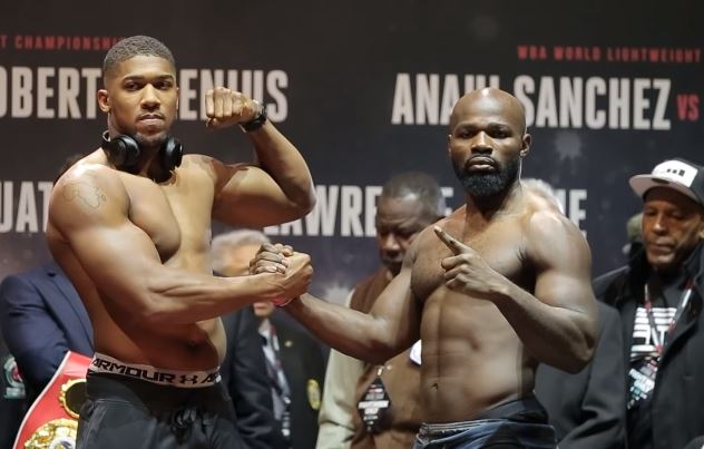 Anthony Joshua Height and Weight