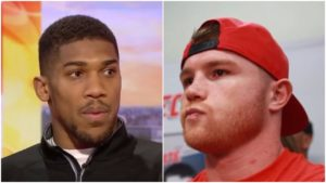 Anthony Joshua or Canelo