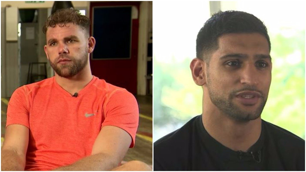 Billy Joe Saunders Amir Khan