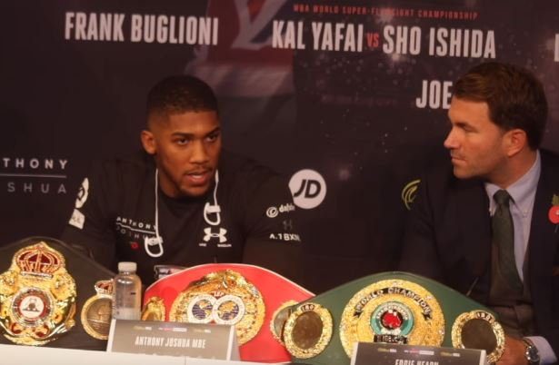 Joshua vs Takam Final Presser