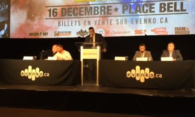 Saunders vs Lemieux Press Conference