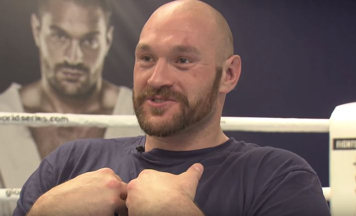 Tyson Fury Officially