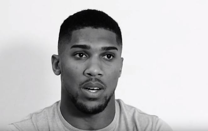 anthony joshua motivation