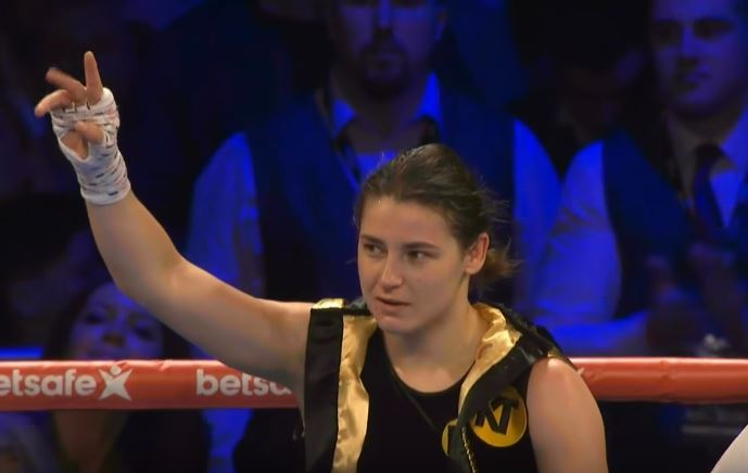 Katie Taylor world title win