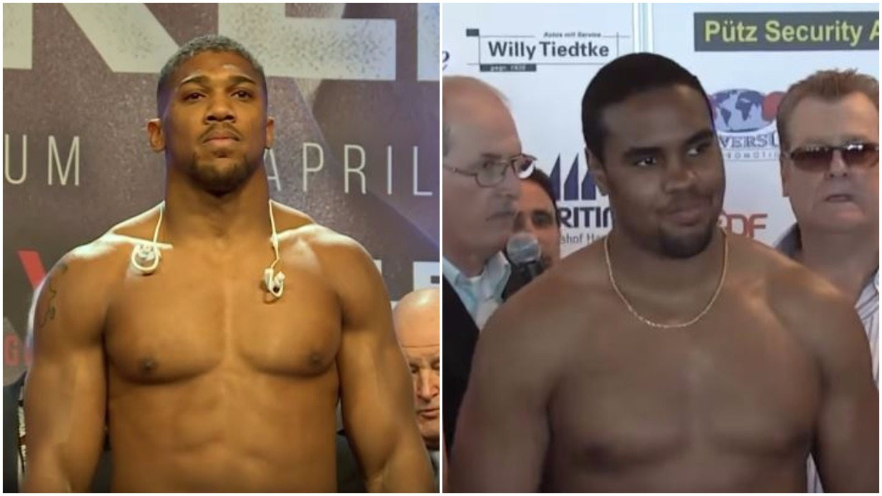 Anthony Joshua Racist