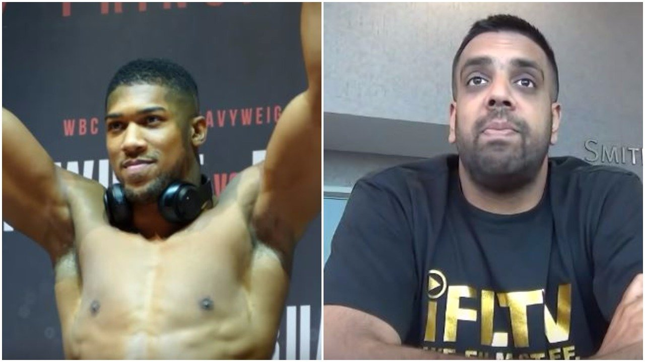 Anthony Joshua shuts down internet reporter