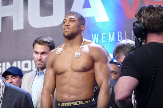 Anthony Joshua Names His Price