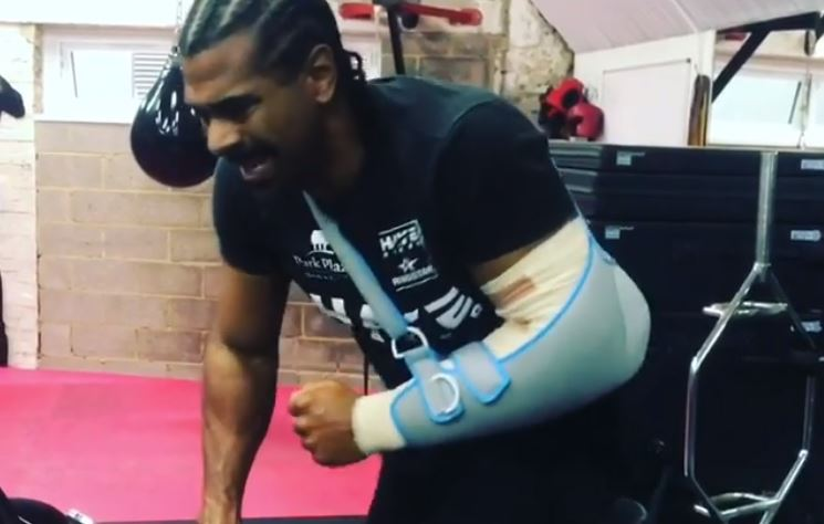 David Haye Vows To Recover, To Come Back Strong in 2018
