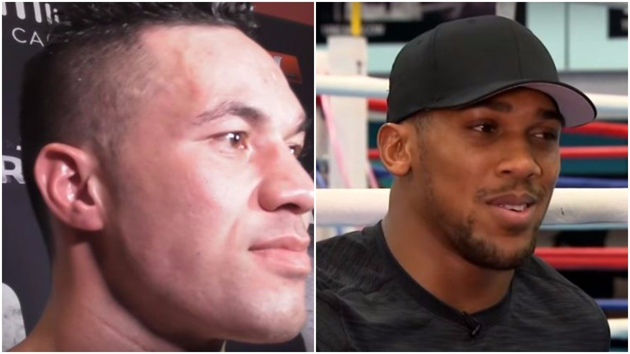 Joseph Parker Responds To Anthony Joshua