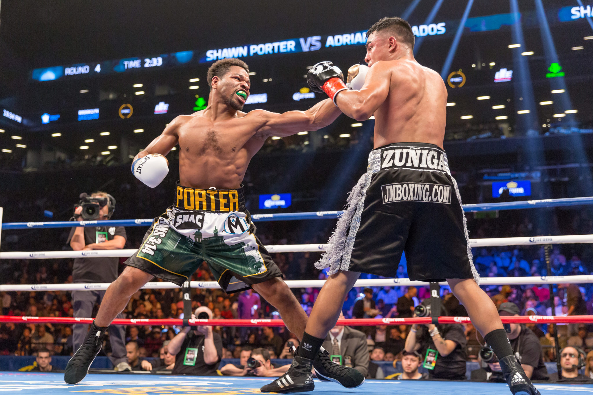 Shawn Porter Calls Out Keith Thurman