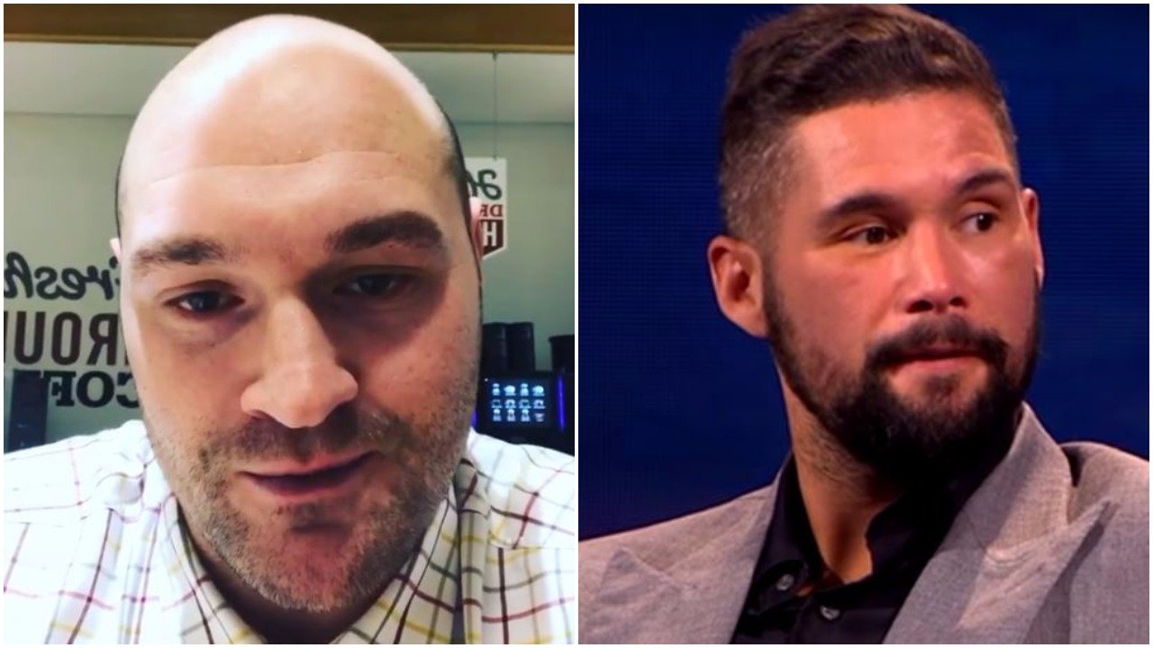 Tyson Fury vows to replace David Haye as Tony Bellew opponent