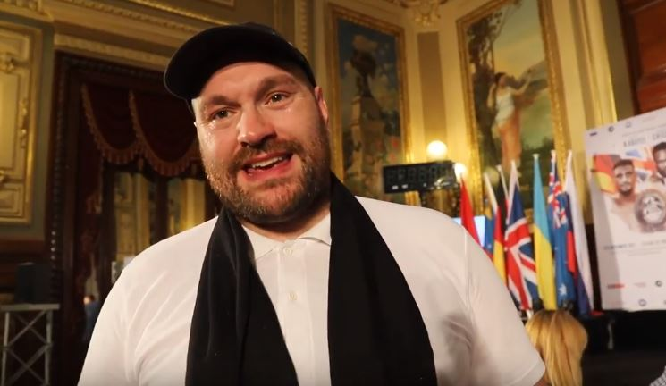 Tyson Fury Reacts To Tabloid