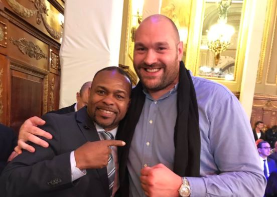 Tyson Fury and Roy Jones