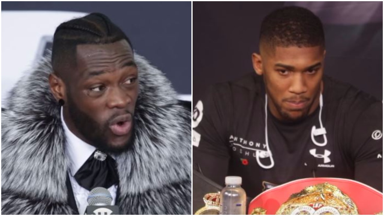 Deontay Wilder Questions Joshua's