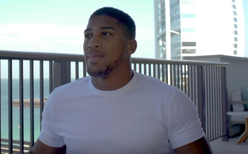 Anthony Joshua 12 Questions Of Christmas